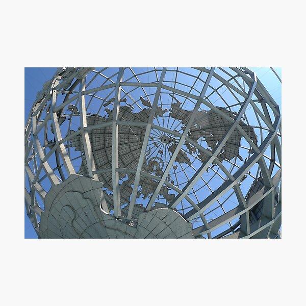 Unisphere - New York World's Fair Photographic Print
