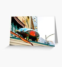 Pike Place Pig Greeting Card