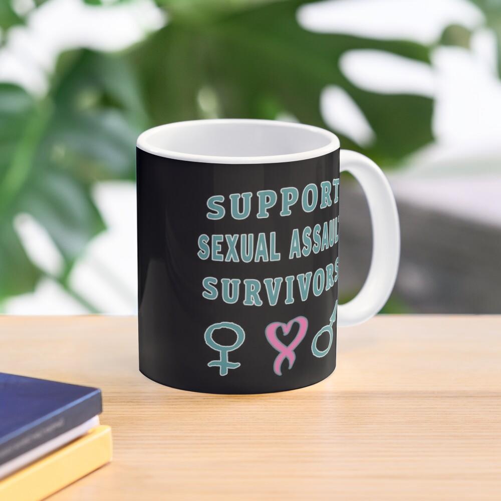 Support Sexual Assault Survivors Awareness Month. Mug