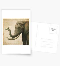 A New Friend (colour option) Postcards