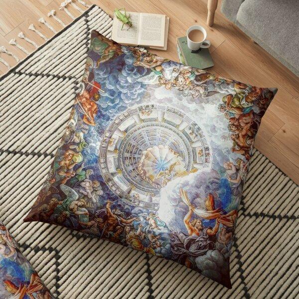 God Is Watching Floor Pillow