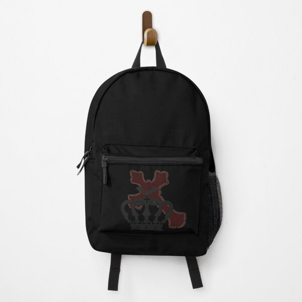 crown gothic, cross, goth Backpack