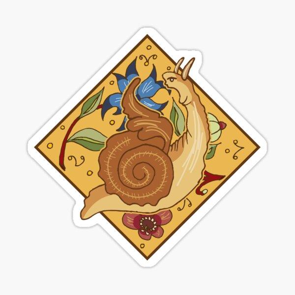Screaming Snail Sticker