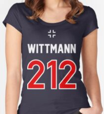 Panzer Aces - Michael Wittmann Women's Fitted Scoop T-Shirt