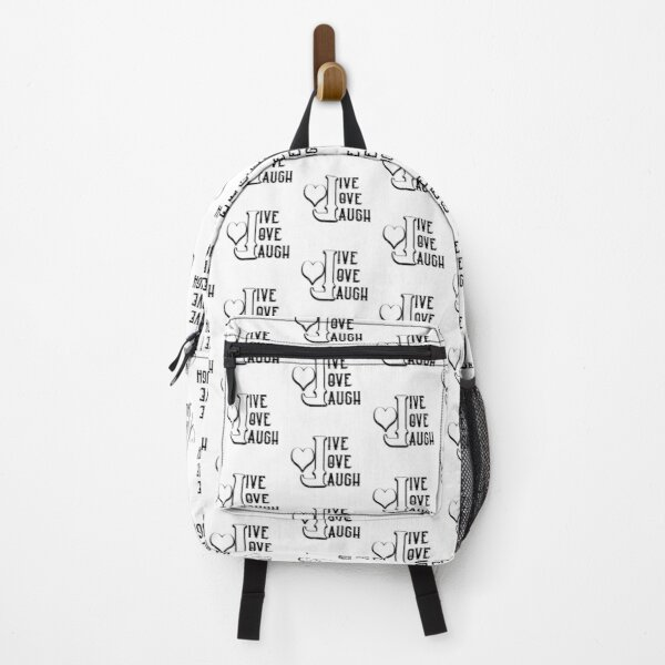 Live Love Laugh Backpack