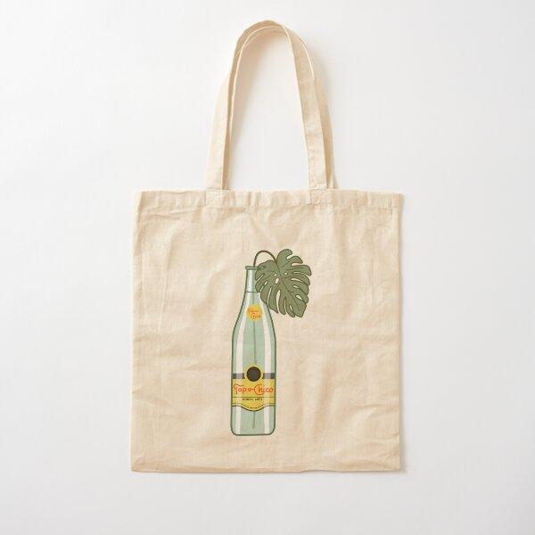 Monstera Topo Chico Cotton Tote Bag