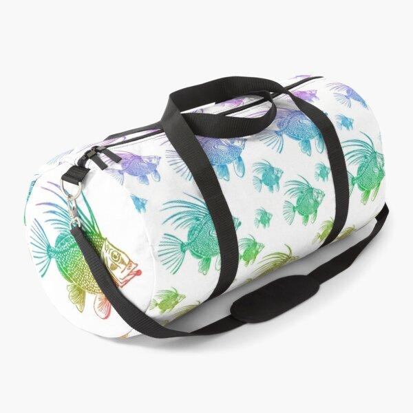 School of rainbow fish  Duffle Bag