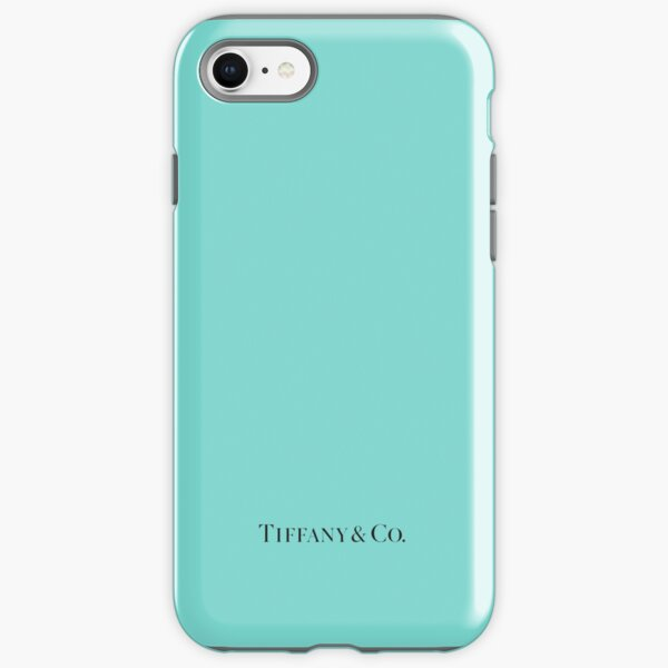 Tiffany Blue w/ Logo  iPhone Tough Case