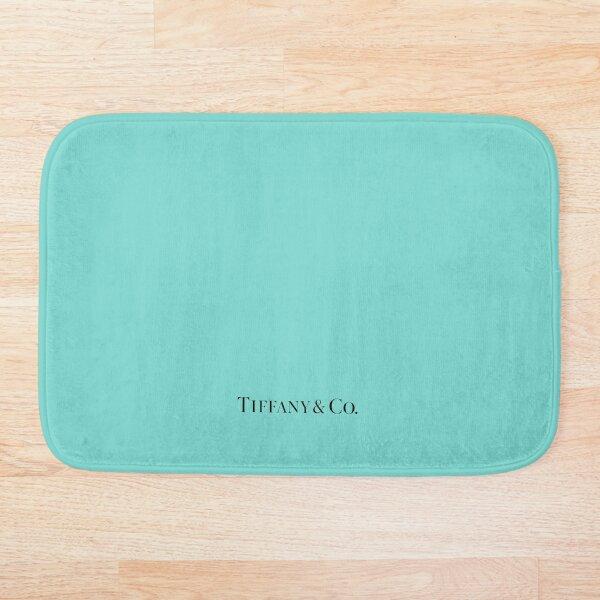 Tiffany Blue w/ Logo  Bath Mat
