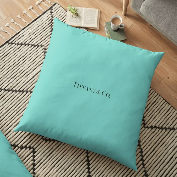 Tiffany Blue w/ Logo  Floor Pillow
