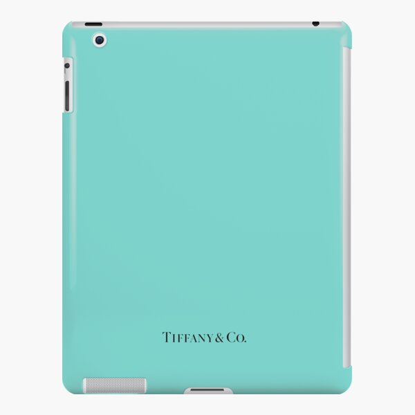 Tiffany Blue w/ Logo  iPad Snap Case
