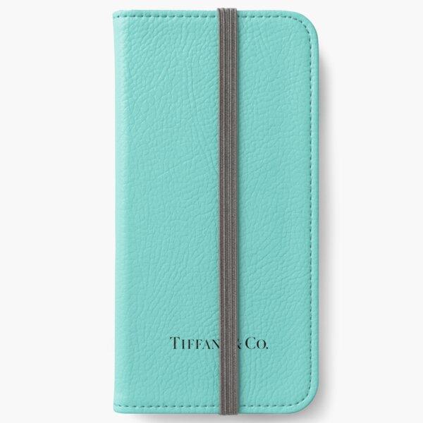 Tiffany Blue w/ Logo  iPhone Wallet
