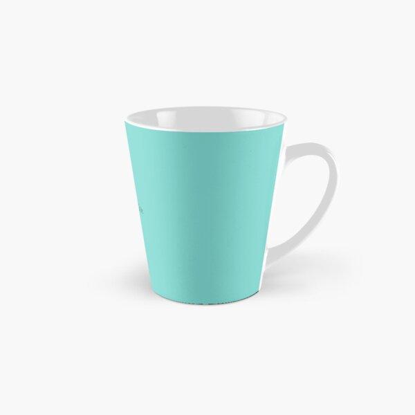 Tiffany Blue w/ Logo  Tall Mug