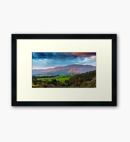 The Smoked Cloud Framed Print