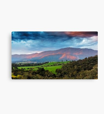 The Smoked Cloud Canvas Print