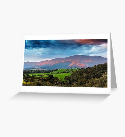 The Smoked Cloud Greeting Card