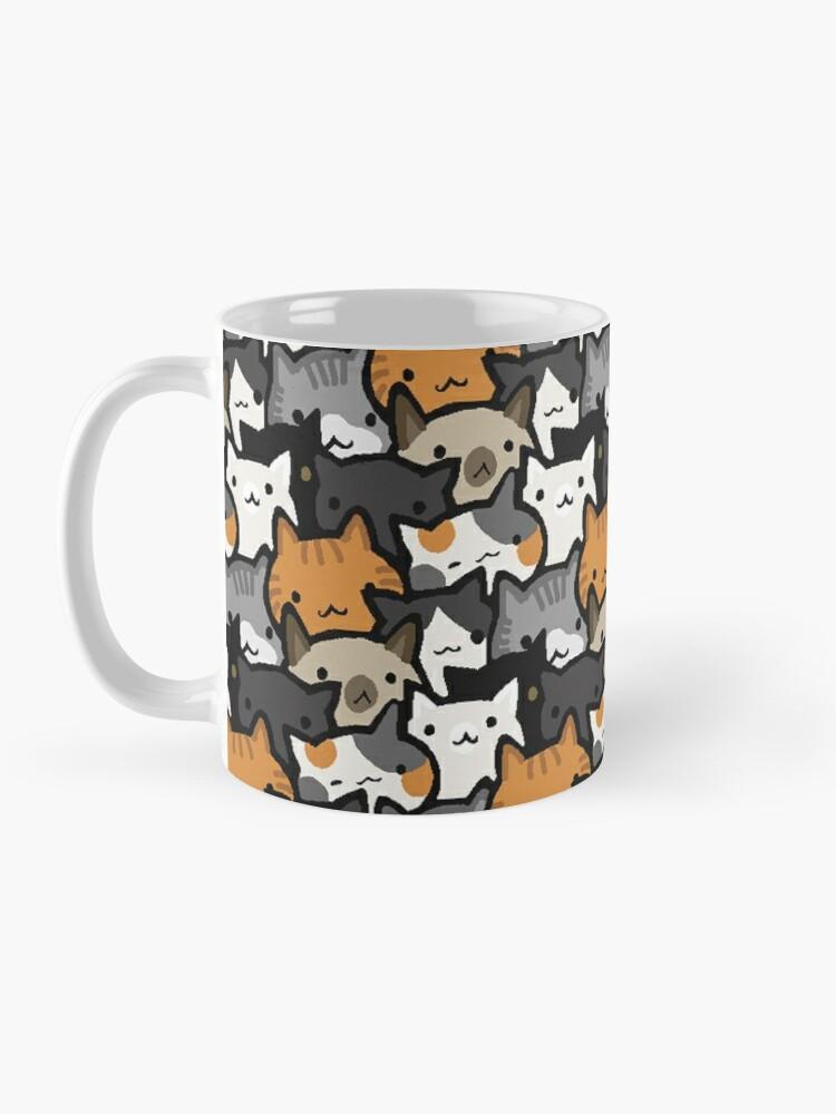 Alternate view of Cat Crowd Mug