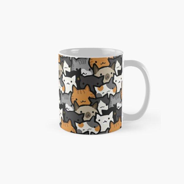 Cat Crowd Classic Mug