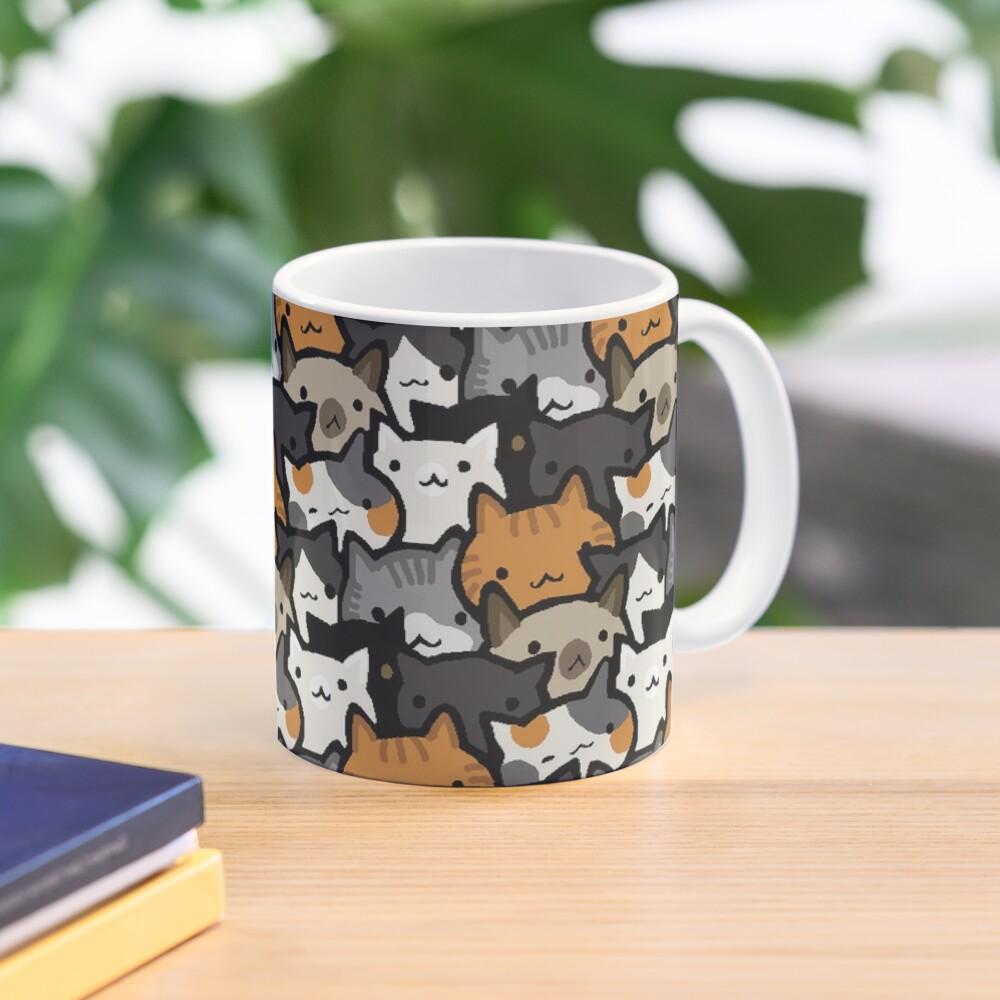 Cat Crowd Mug