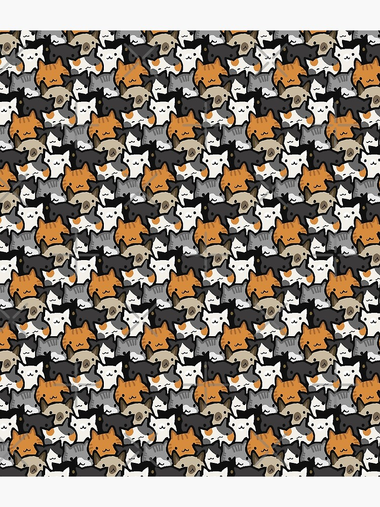 Cat Crowd by missdaisydee