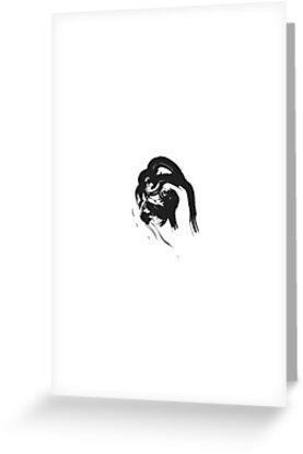 S // Black on White by schiggityschway