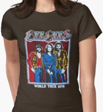 BEE GEES WORLD TOUR Womens Fitted T-Shirt