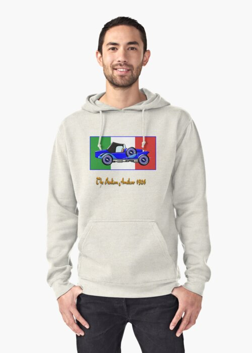 The Italian Amilcar 1926 T-shirt by Dennis Melling