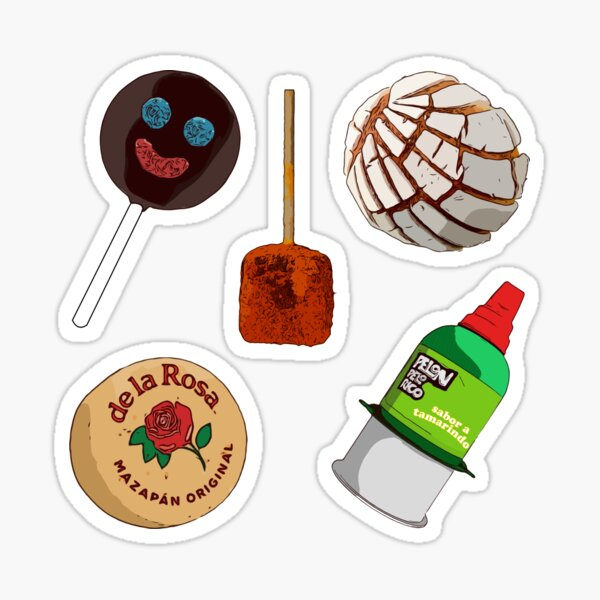 MEXICAN CANDIES PACK Sticker