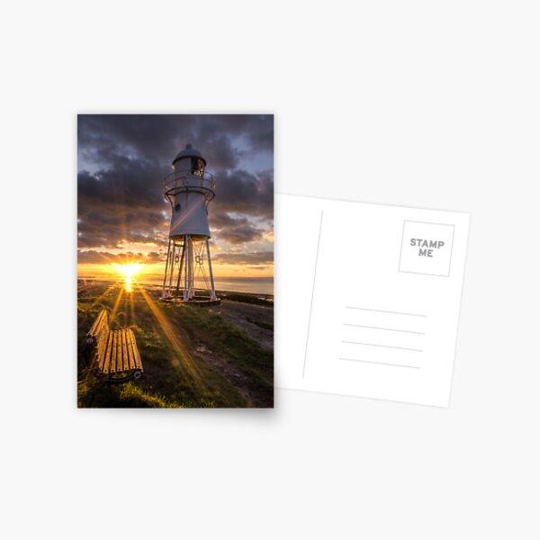Black Nore Lighthouse Sunset Postcard