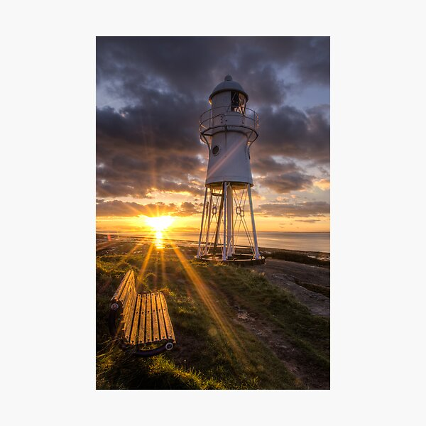 Black Nore Lighthouse Sunset Photographic Print