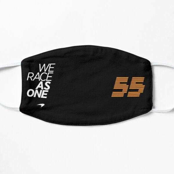 Carlos Sainz 55 We Race As One Mclaren 2020 Masque sans plis