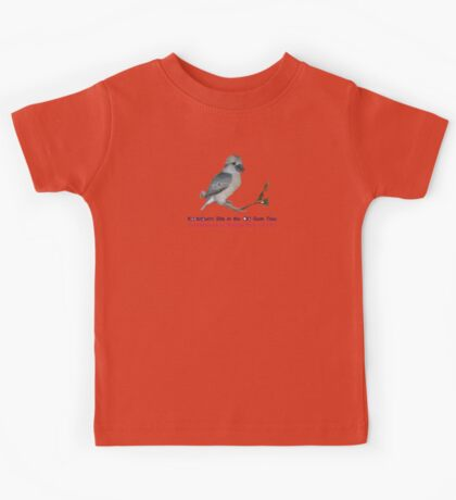 Kookaburra Sits In The Old Gum Tree Kids Clothes