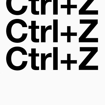 Ctrl+Z by Graphiccontent