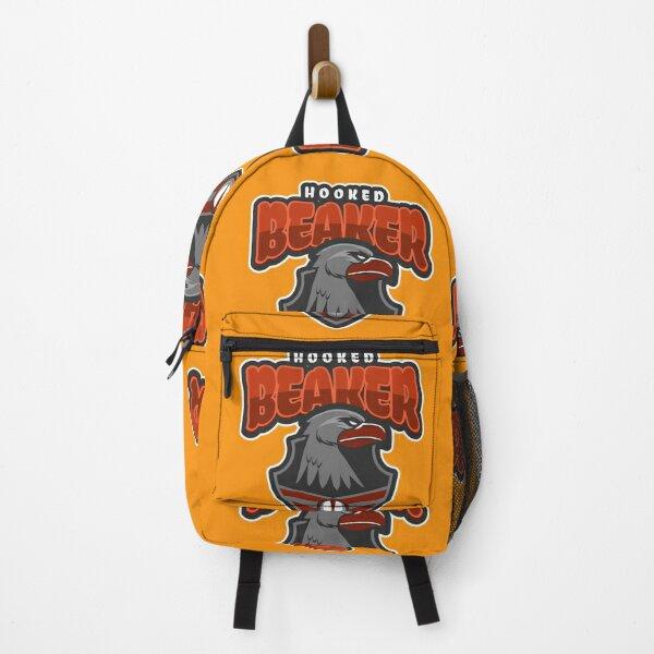 Hooked Beaker, the king of the sky - Artistic Work and Designer Merchandise Backpack