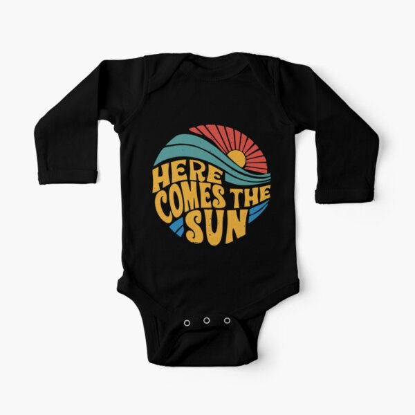 Here Comes the Sun Long Sleeve Baby One-Piece