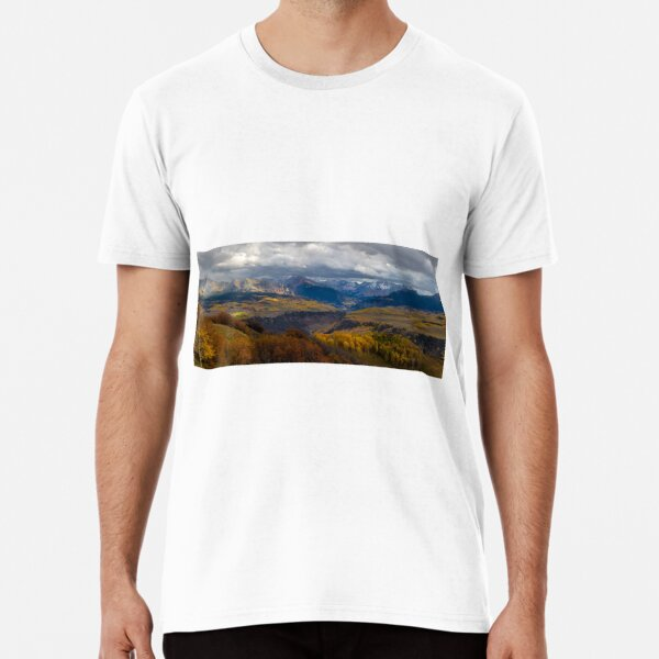Uncompahgre Panorama Sunset Premium T-Shirt