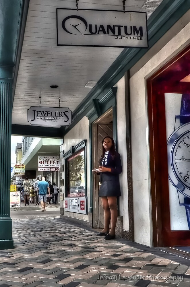 Attracting customers on Bay Street by Jeremy Lavender Photography
