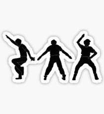 Napoleon Dynamite Dance Sticker