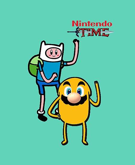 Nintendo Time by Zangets
