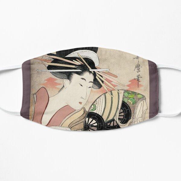 Courtesan Ichikawa of Matsuba Flat Mask