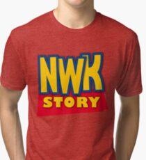 'Newark Story' Tri-blend T-Shirt