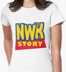 'Newark Story' Women's Fitted T-Shirt