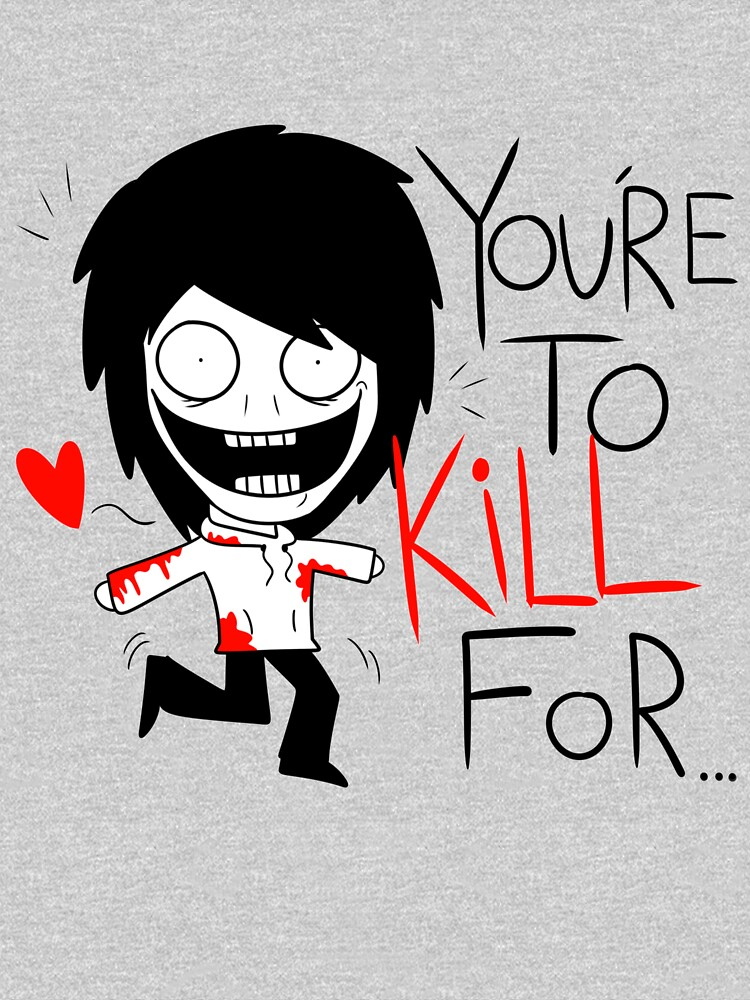 Jeff The Killer Loves You | Unisex T-Shirt