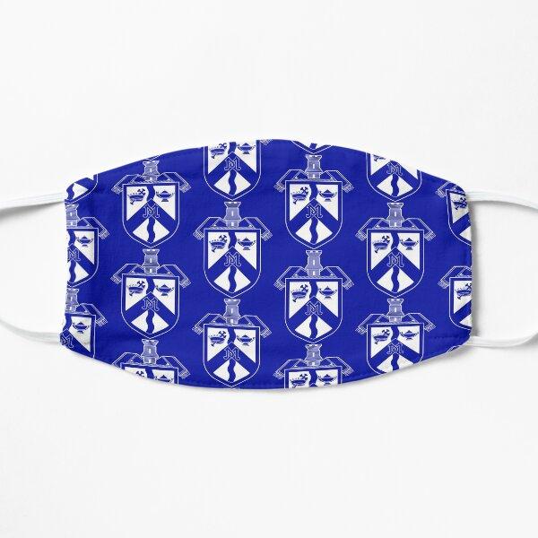 Mercy Shield Logo on Blue Mask