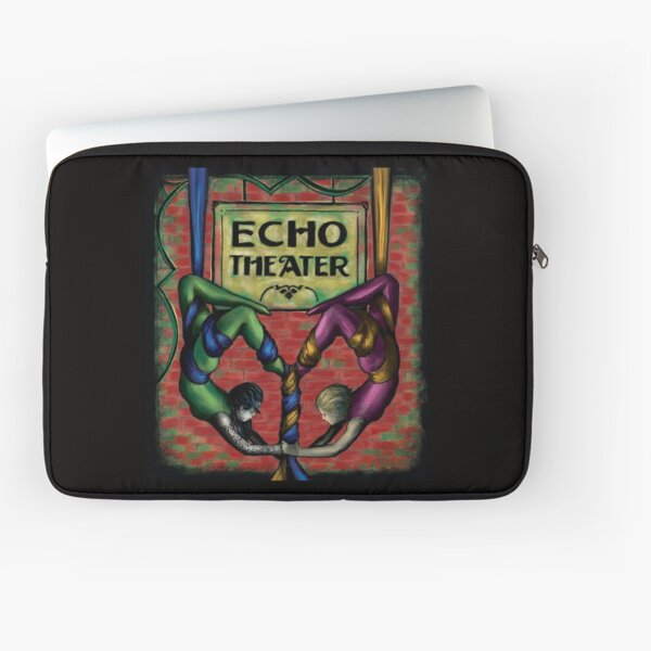 Echo Theater Aerial Dance Laptop Sleeve