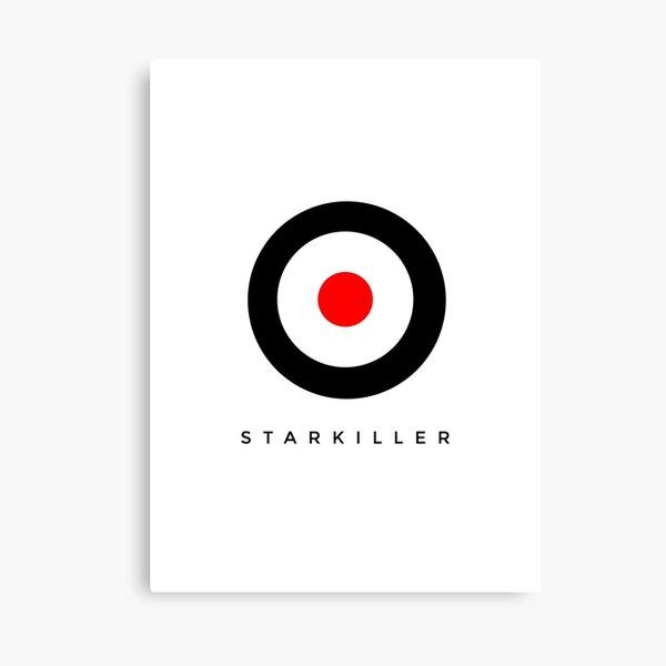 Star killer target Canvas Print