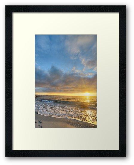 Sunset on the coast of Andoya island by DmiSmiPhoto