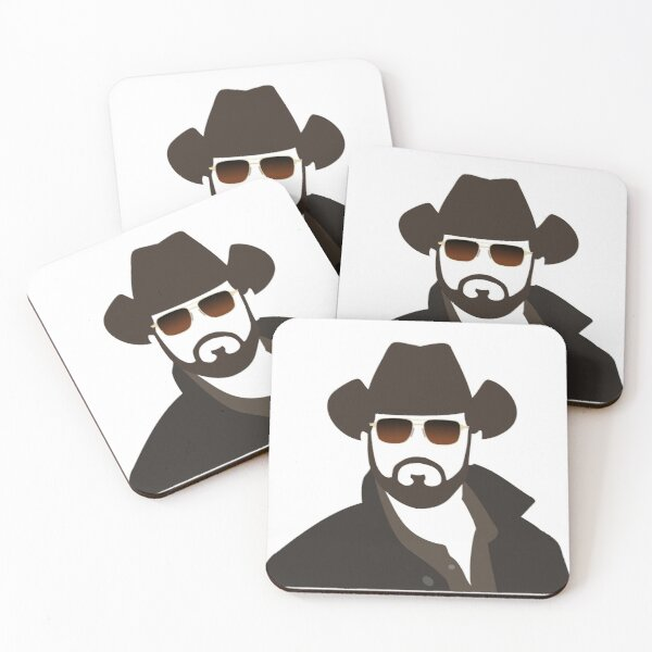 Rip Wheeler Coasters (Set of 4)