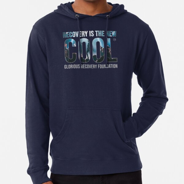Recovery Is The New Cool - Yeah! Lightweight Hoodie