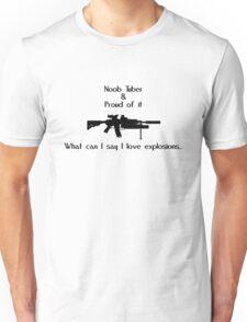 Noob Tuber 2 (black text) T-Shirt